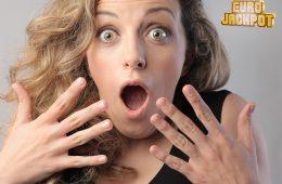 überraschte Frau