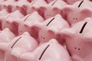 rosa Sparschweine
