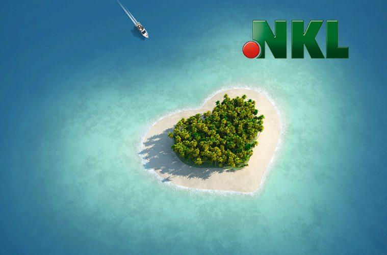 herzförmige Insel