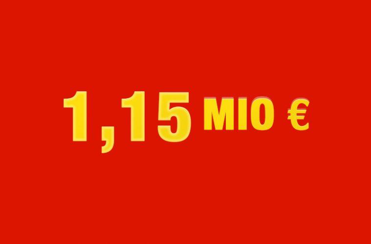 1,15 Mio Euro