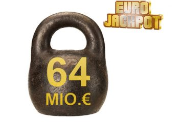 Eurojackpot 64 Millionen Euro schwer