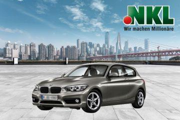 Hennes-Kunden gewinnen bei NKL-Sachgewinnziehung BMW 1er
