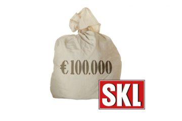 100.000 € Geldsack für SKL-Gewinner