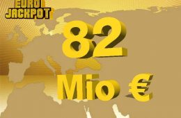 82 Millionen im Eurojackpot