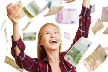 Eurojackpot-Spieler im Geldregen