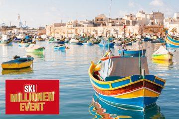 SKL Millionen Event auf Malta
