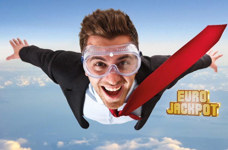 fliegender Mann