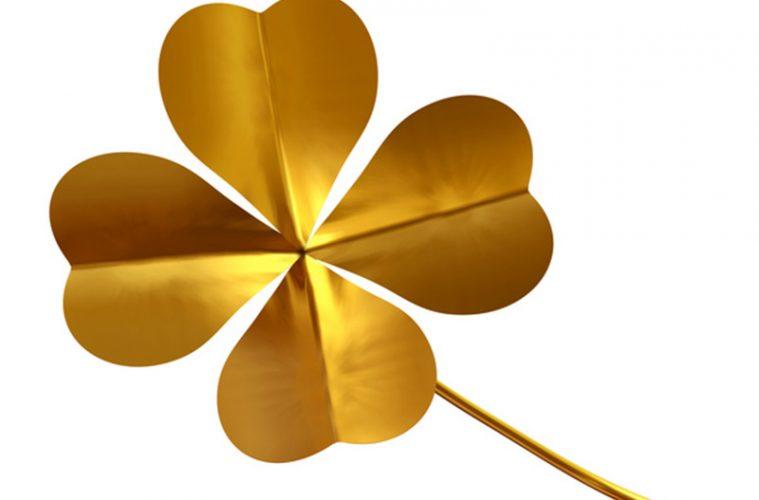 goldenes Kleeblatt