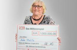 Gewinnerin SKL-Millionen-Event
