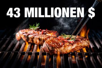 43 Mio US Dollar für ein Steak