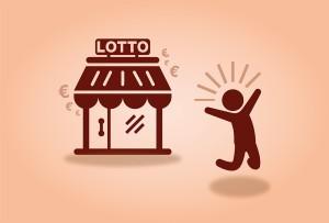 Am Lotto-Kiosk kam die Überraschung