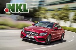 Mercedes Benz C-Klasse Coupé bei der NKL-Sachgewinnziehung
