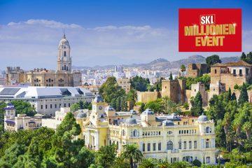 Málaga Andalusien SKL-Millionen-Event