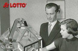 erste Lottoziehung