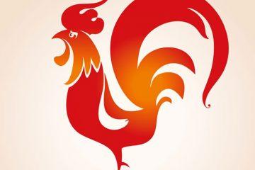Feuerhahn - Chinesisches Neujahrsfest