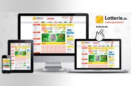 Online-Lotto Desktop, Tablet, Smartphone
