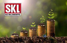 Geld wächst aus dem Boden