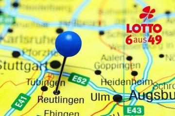 Landkarte Reutlingen