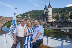 5-fache Millionärin Vesna Vekic und Millionengewinner Marcus Winter und Ralf Deuring
