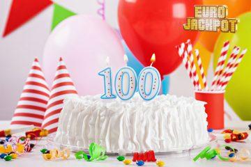 Geburtstagskuchen 100. Geburtstag