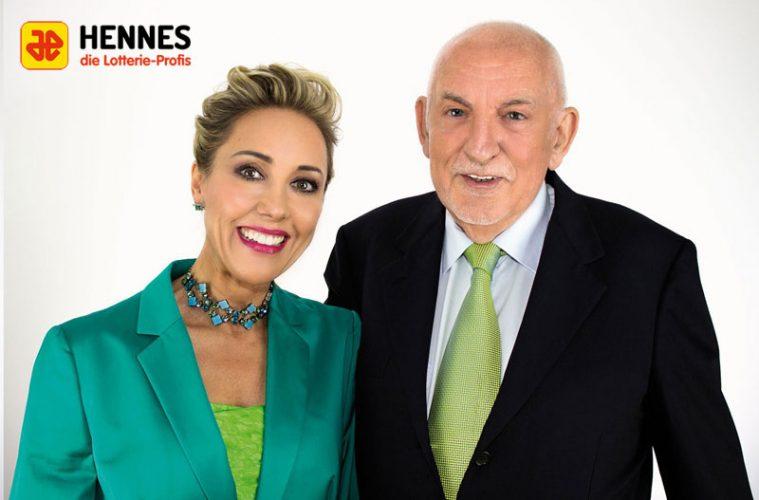 Hubert Hennes, Susanne Hennes-Wettstein, Geschäftsführung Lotterie-Einnahme Hennes