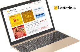 Neues Webseiten-Design bei Lotterie.de