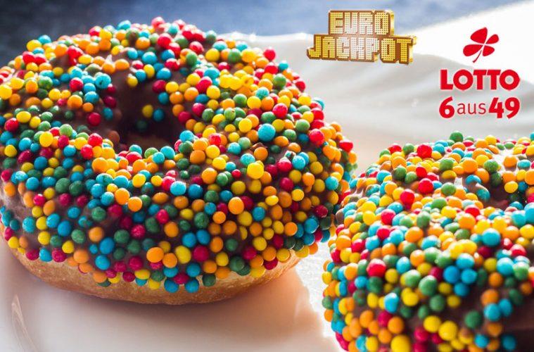 Faschingskrapfen und Faschings-Donut