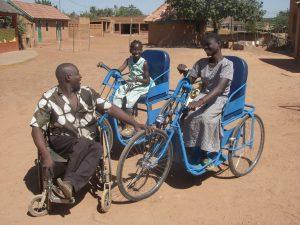 Rollstühle in Afrika