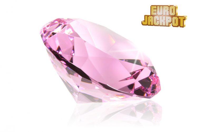 """Rosafarbener Diamant """"Pink Star"""""""