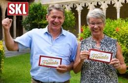 SKL-Finalisten Dagmar Schompeter-Munz und Thomas Huber