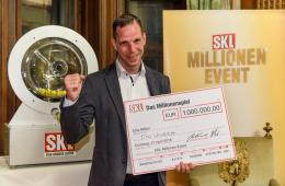 Timo Ullrich Gewinner der SKL-Lotterie beim SKL-Millionen-Event 2018