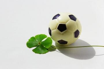 Fußball und Glück