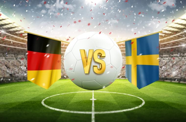 Fußballspiel Deutschland Schweden