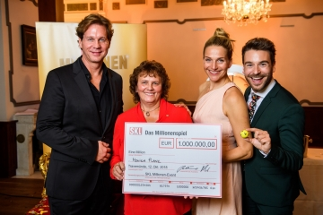 Monika Platz gewinnt 1 Million €