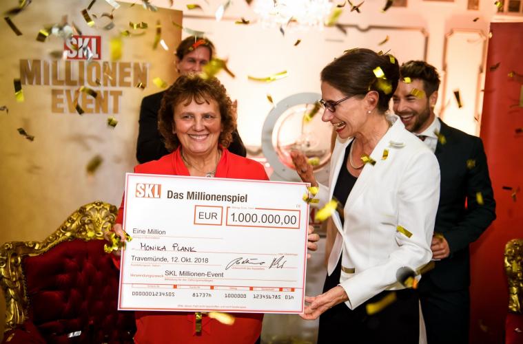 Oberpfälzerin gewinnt 1 Million € beim SKL-Millionen-Event