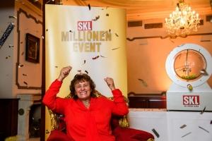 Monika Plank aus der Oberpfalz gewinnt das SKL-Millionen-Event