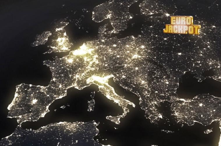 Europa vom Weltraum aus