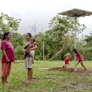 Solarstrom für indigene Völker in Costa Rica