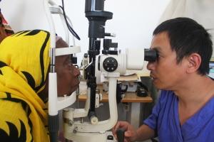 Augenuntersuchung Äthiopien