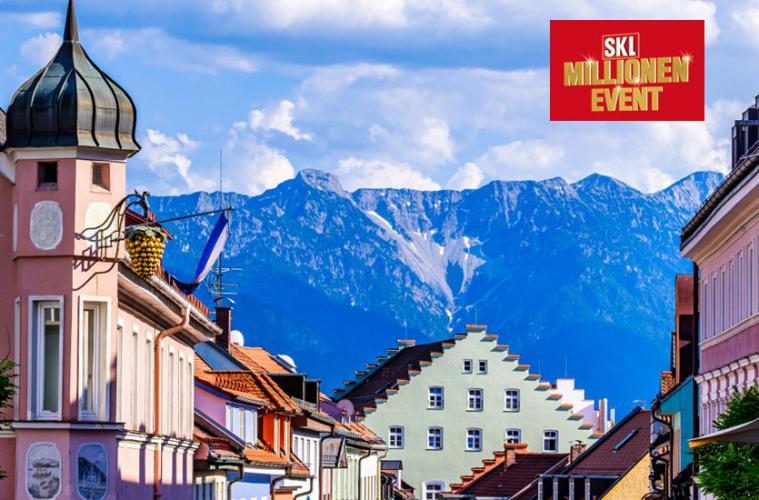 SKL-Millionen-Event in Murnau am Staffelsee