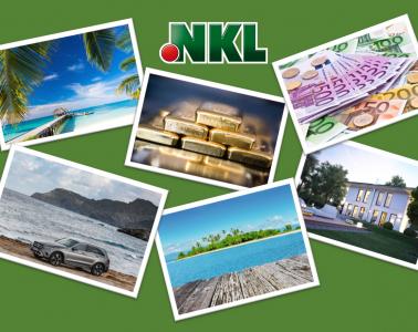 Geldgewinne und Sachgewinne der 143. NKL-Lotterie