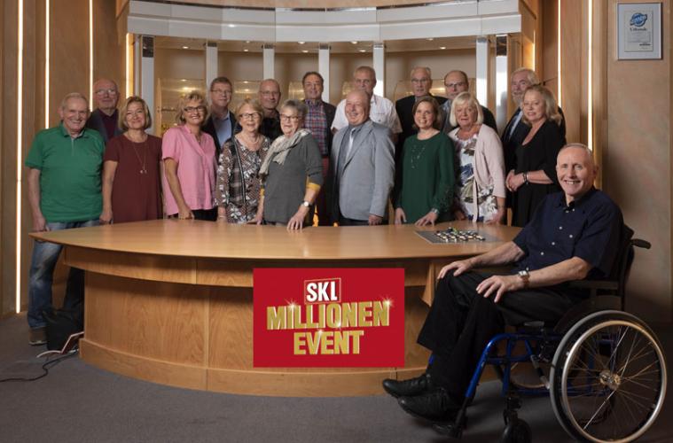 Kandidaten SKL-Millionen-Event